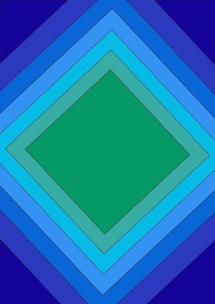 blue geometry by lotusleaf