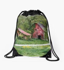 Deserted Drawstring Bag