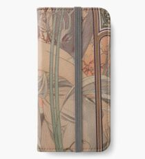Alfonse Mucha HF4 iPhone Wallet/Case/Skin
