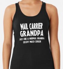 Gifts For Mail Carrier's Grandpa Women's Tank Top