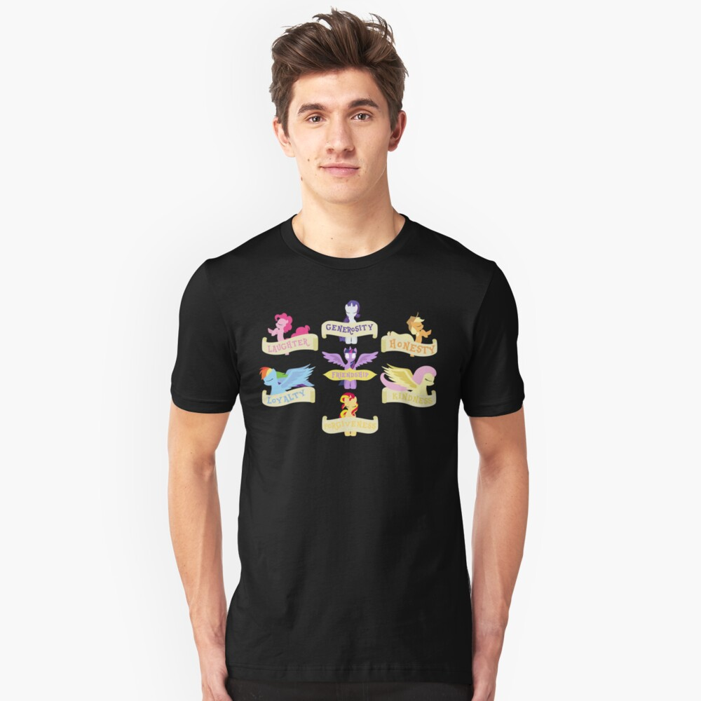 The 7 Elements of Harmony Unisex T-Shirt Front