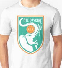 Camiseta unisex Camiseta Costa del Mundo de Costa de Marfil