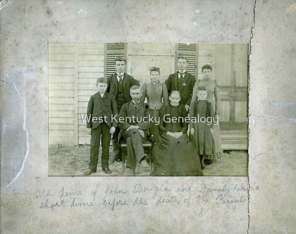 John Douglas & Family by Don Howell