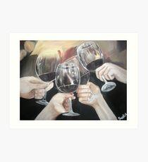 Salud! Art Print