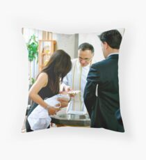 Baptized to New Life... Throw Pillow