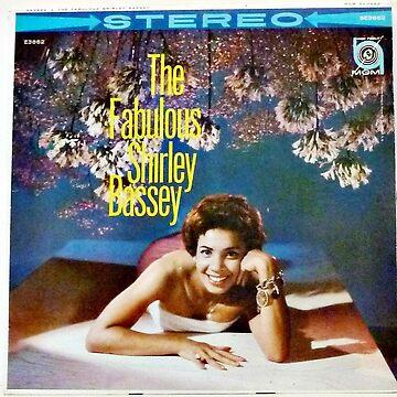 Shirley Bassey, Fabulous, Bond, Pop, Singer, 60's by Vintaged