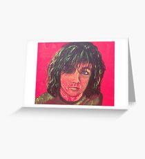 Syd Barrett - Red Greeting Card
