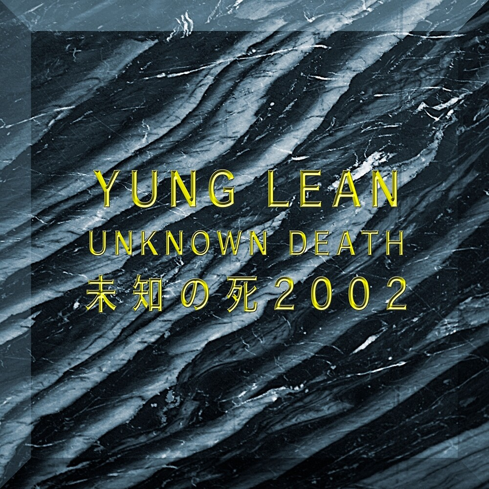 Yung Lean - Unknown Death 2002 - Pillows & Totes by icedoutboys2001