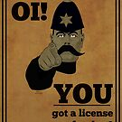You Got A License For That? by Roley by RoleyShop