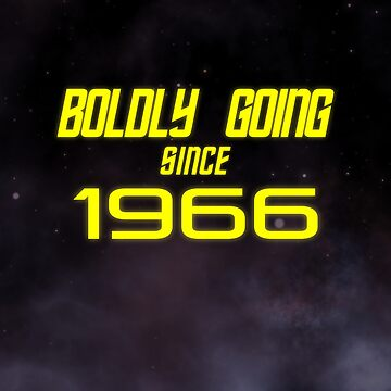 Boldly Going Since 1966 by altdisney