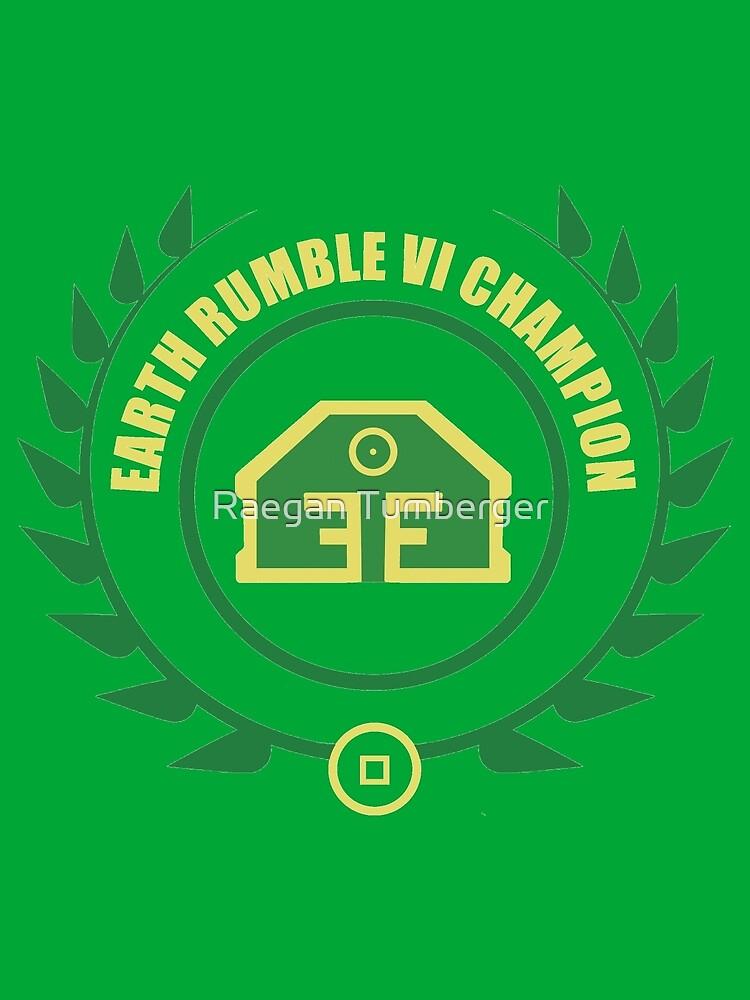 Earth Rumble Champion by Raegantum
