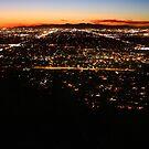Arizona Sunset, PiestewaPeak by Chris  OShana
