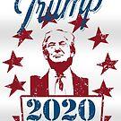 Trump 2020 - Keep America Great Vintage Edition by CentipedeNation