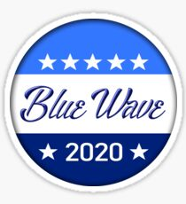 Blue Wave 2020 Badge Sticker