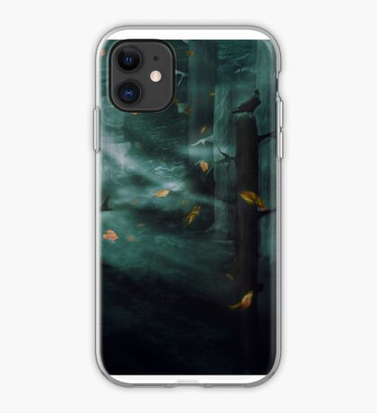 In the Woods Tonight iPhone Case