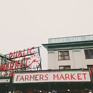 Pikes Place Market - Seattle  by Eoxe