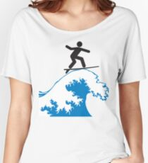 Artistic Surfing Women's Relaxed Fit T-Shirt