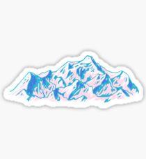 Cascade Mountains Sticker