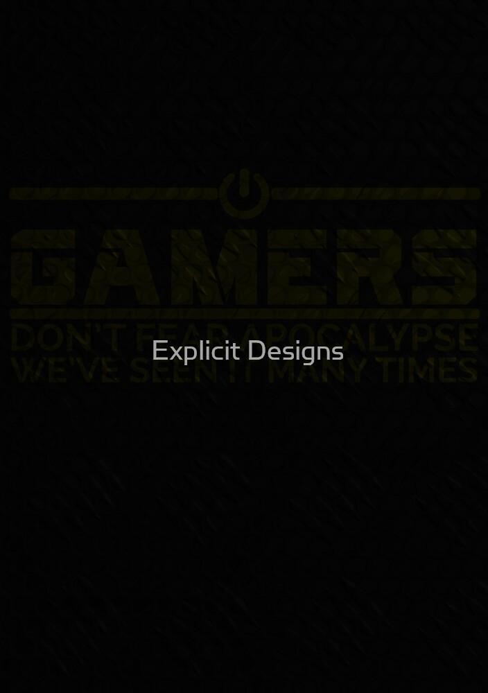 Gamer (Ligt Background) by Explicit Designs