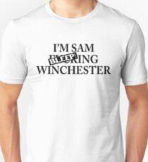 I'm Sam BLEEPing Winchester T-Shirt