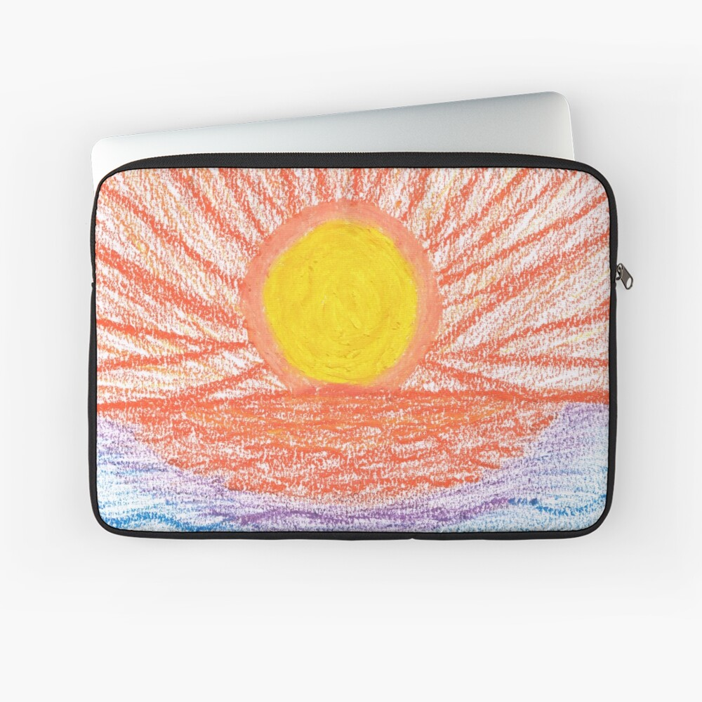 Merch #28 -- Sea Sunset Laptop Sleeve