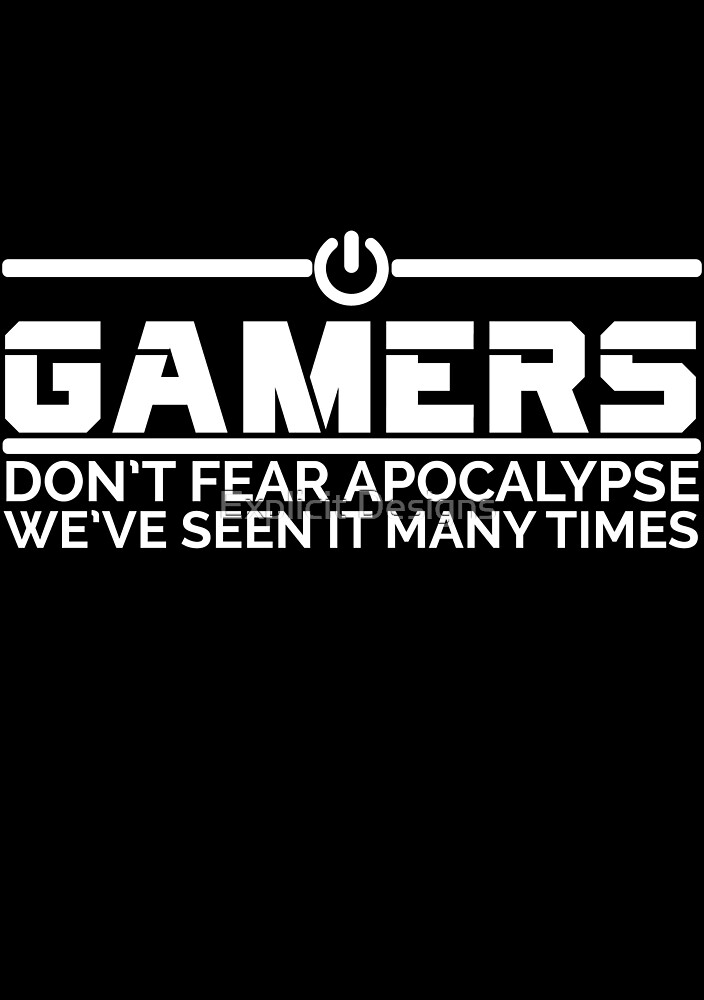 Gamers (Dark Background) by Explicit Designs