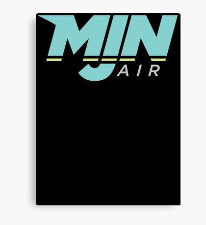 MJN Air Logo Canvas Print