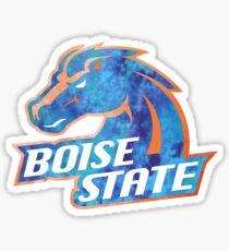 Boise State Logo Tie Dye Sticker