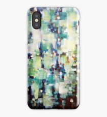 Forest in motion iPhone Case
