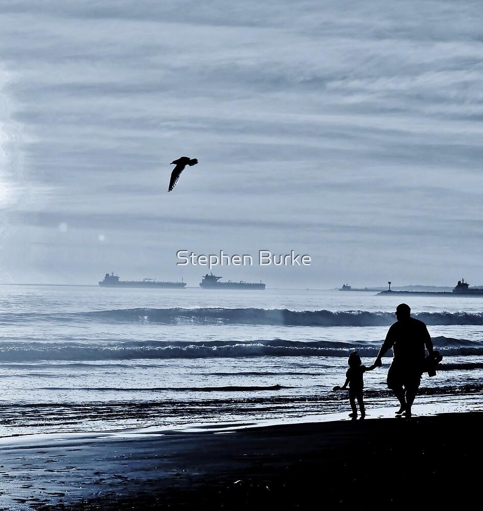 Beach Walk by Stephen Burke
