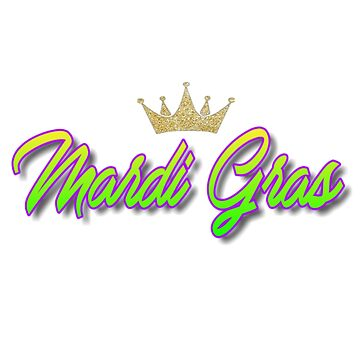 Mardi Gras-Holiday-Crown-Gold de lrsimpleprints