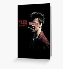 Tyler Durden - Psychopath Greeting Card