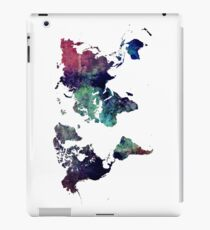 Map world art after Ice age iPad Case/Skin