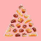 Kopie der Brotpyramide im Rosa von Paigekotalik