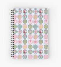 Flowers and Pearls Spiral Notebook