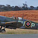 Spitfire Mark XV1 - vale wartime pilot by bazcelt