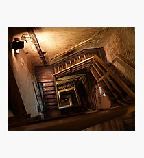 Spiral Stairs II Photographic Print