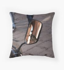 Street Reflections Throw Pillow