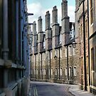 A street in Cambridge. by Janis Read-Walters