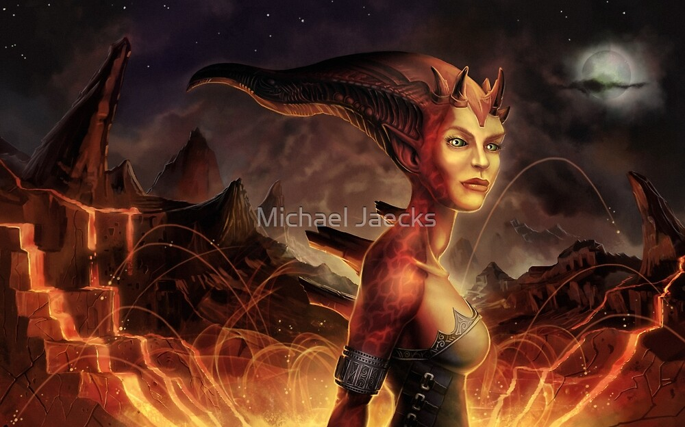 Magma Devil by Michael Jaecks