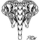 Elephant Maori by PiDu by Piotr Dulski
