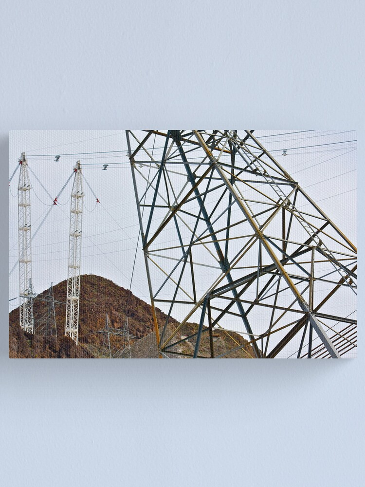 Alternate view of Dam Power Canvas Print