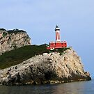 Punta Carena Lighthouse - Capri, Italy by jules572