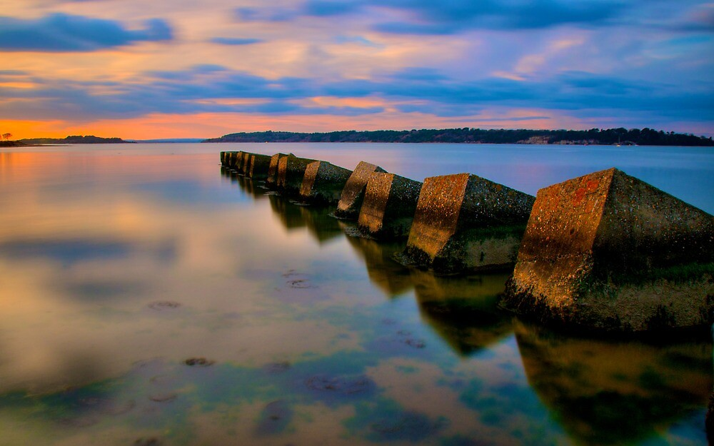 Cubist Sunset by Mabs
