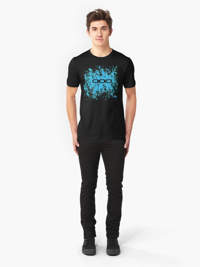 Alternate view of Bioshock Chains of EVE Slim Fit T-Shirt