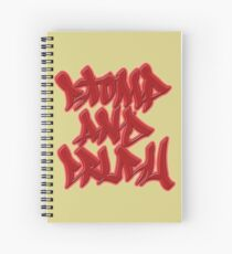 Stomp and Crush Spiral Notebook