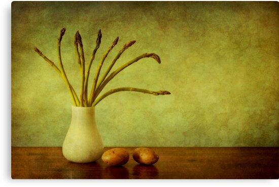 Asparagus by Priska Wettstein