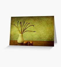 Asparagus Greeting Card