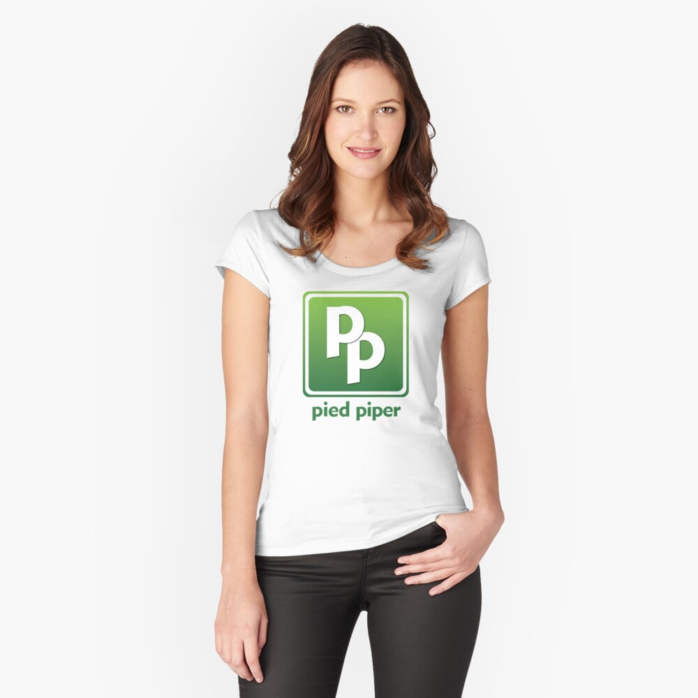 Pied Piper (Version 3) Women's Fitted Scoop T-Shirt Front
