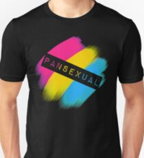 Pansexual Stripes Unisex T-Shirt